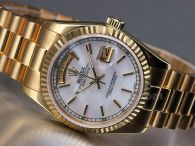 2015 Gold Rolex watches