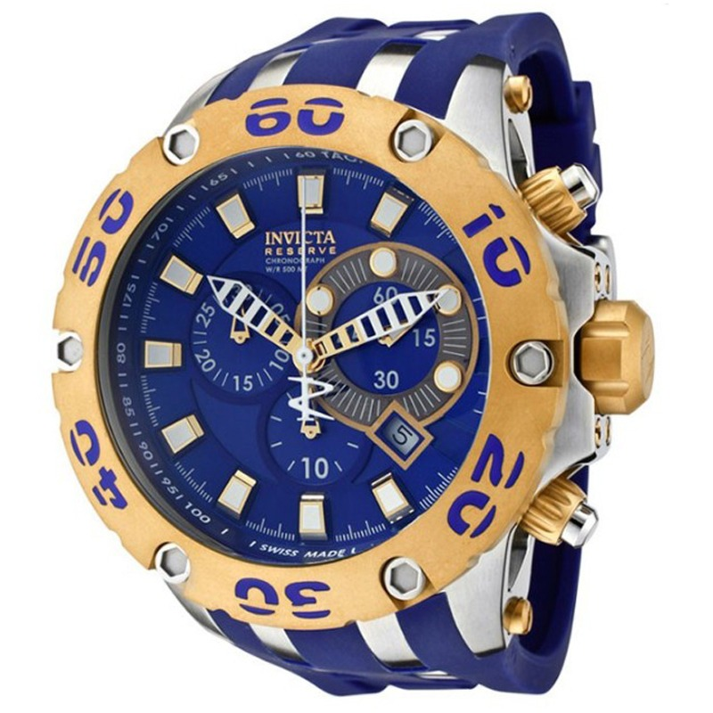 Invicta gold watches for men