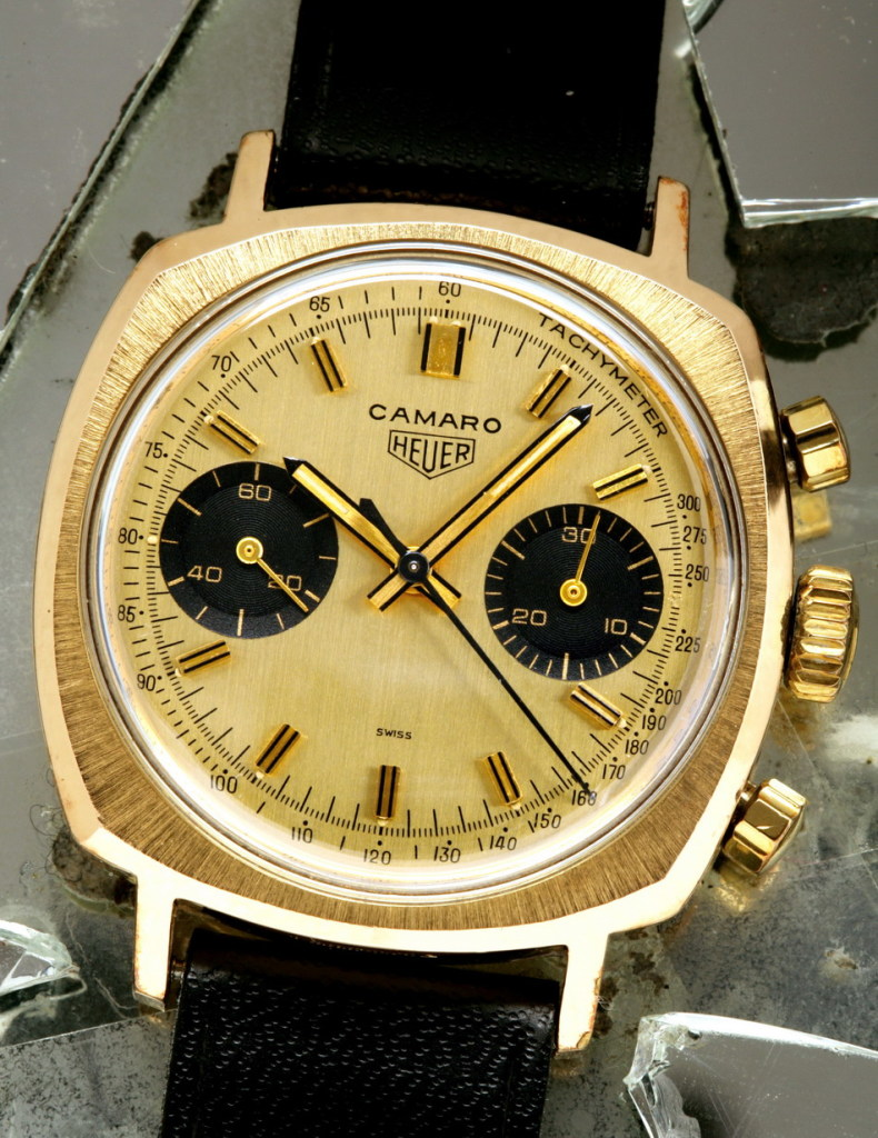 Tag heuer gold watches humble watches for Gold timepieces watch