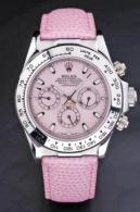 womens pink rolex watches