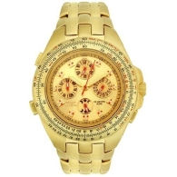 Golden Invicta watches