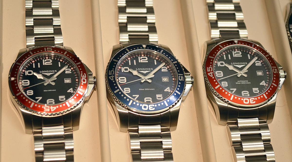 Longines watches red color