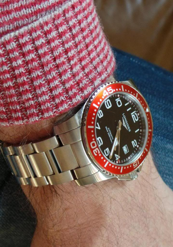 red Longines watches