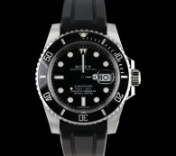black mens rolex watch