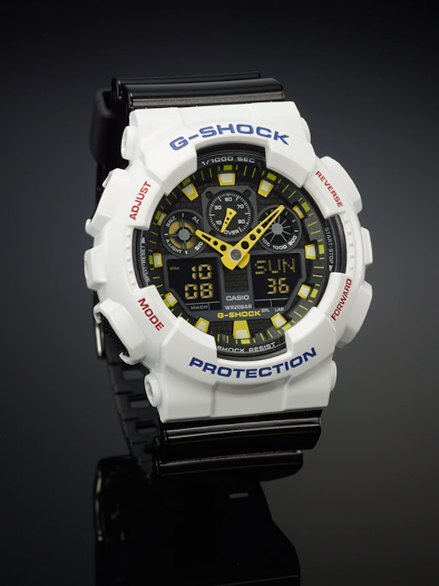 2016 GShock Watch white