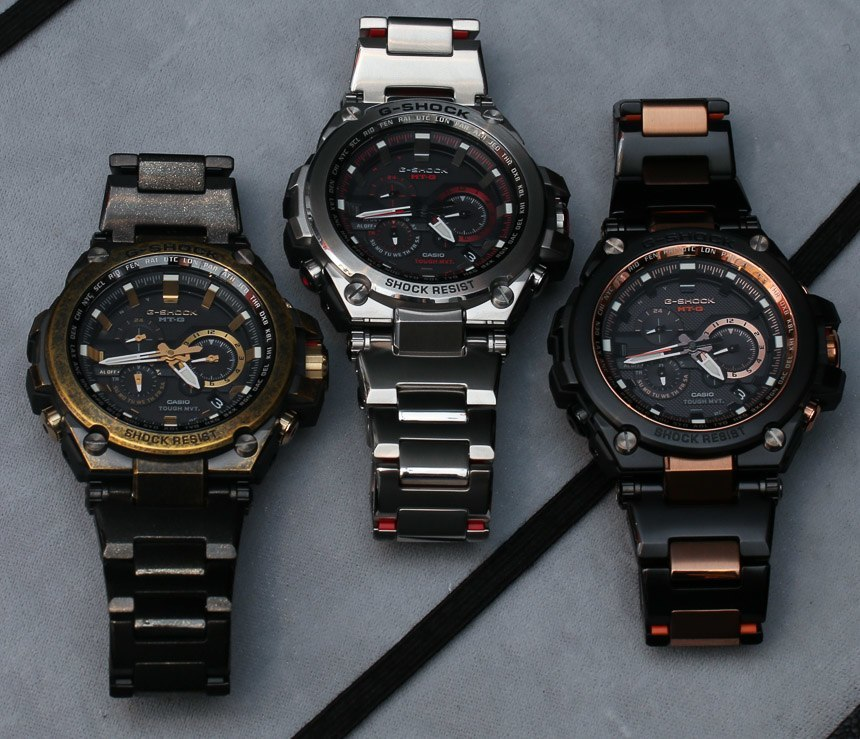 Casio GShock 2016 watches