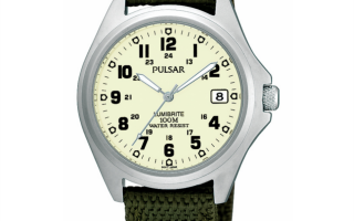 2016 Pulsar army Watch