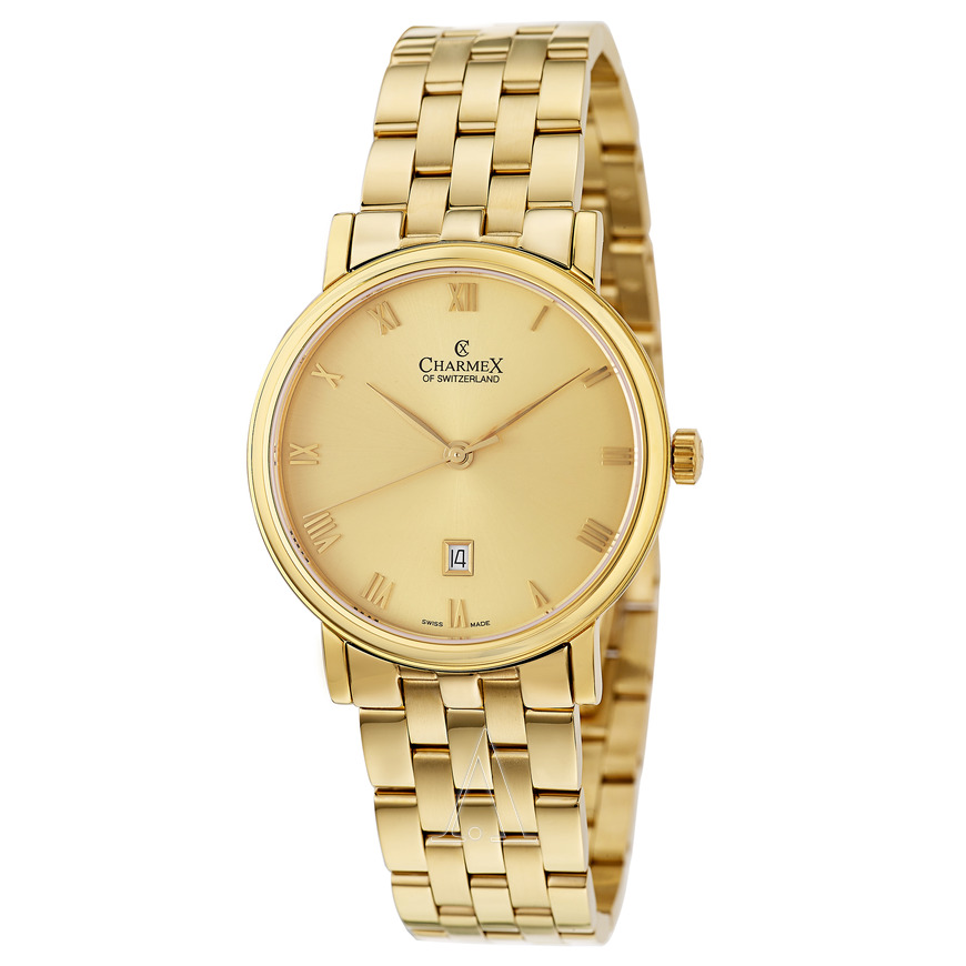 2017 charmex watches gold