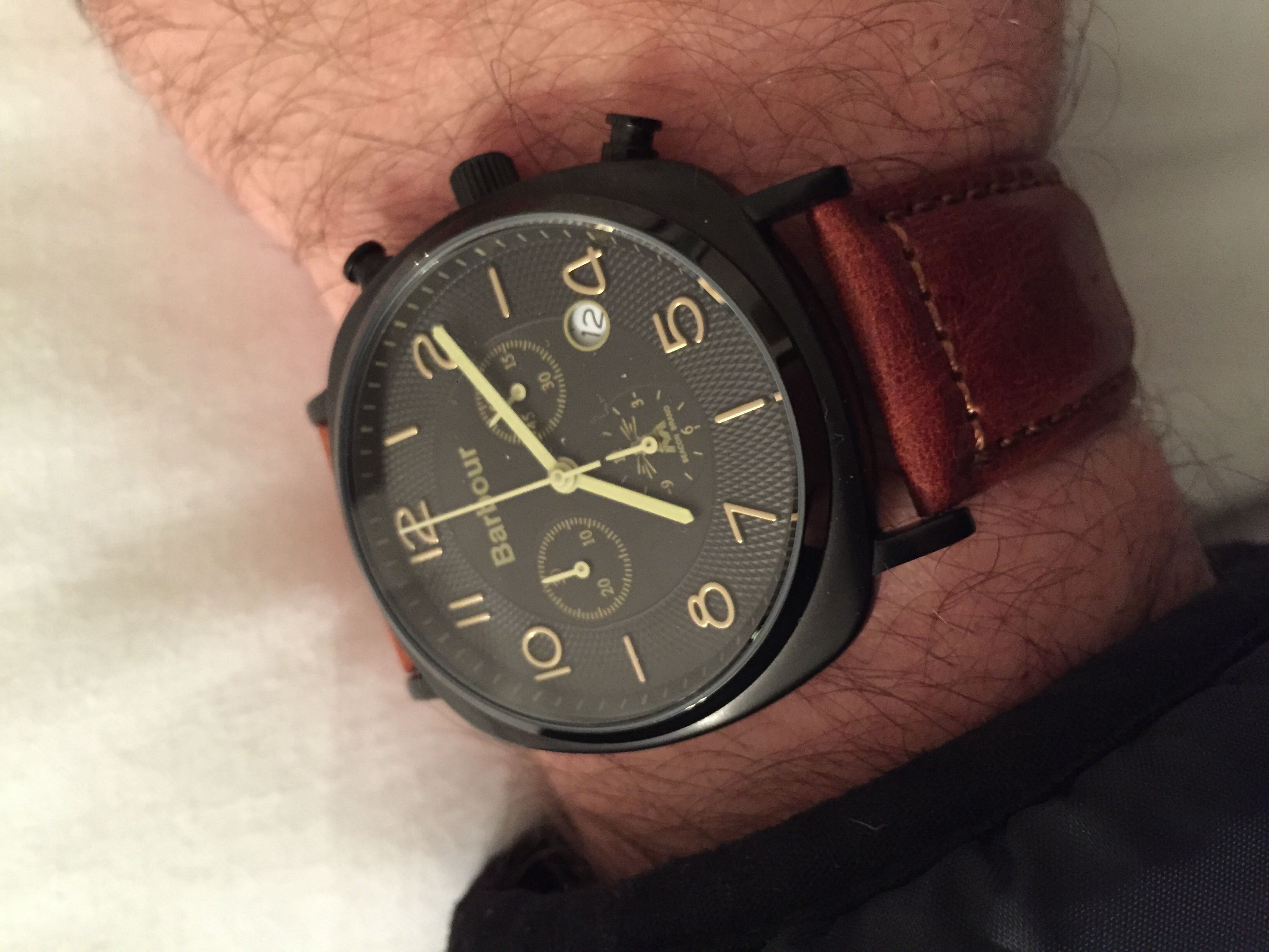 Barbour Watches on hand