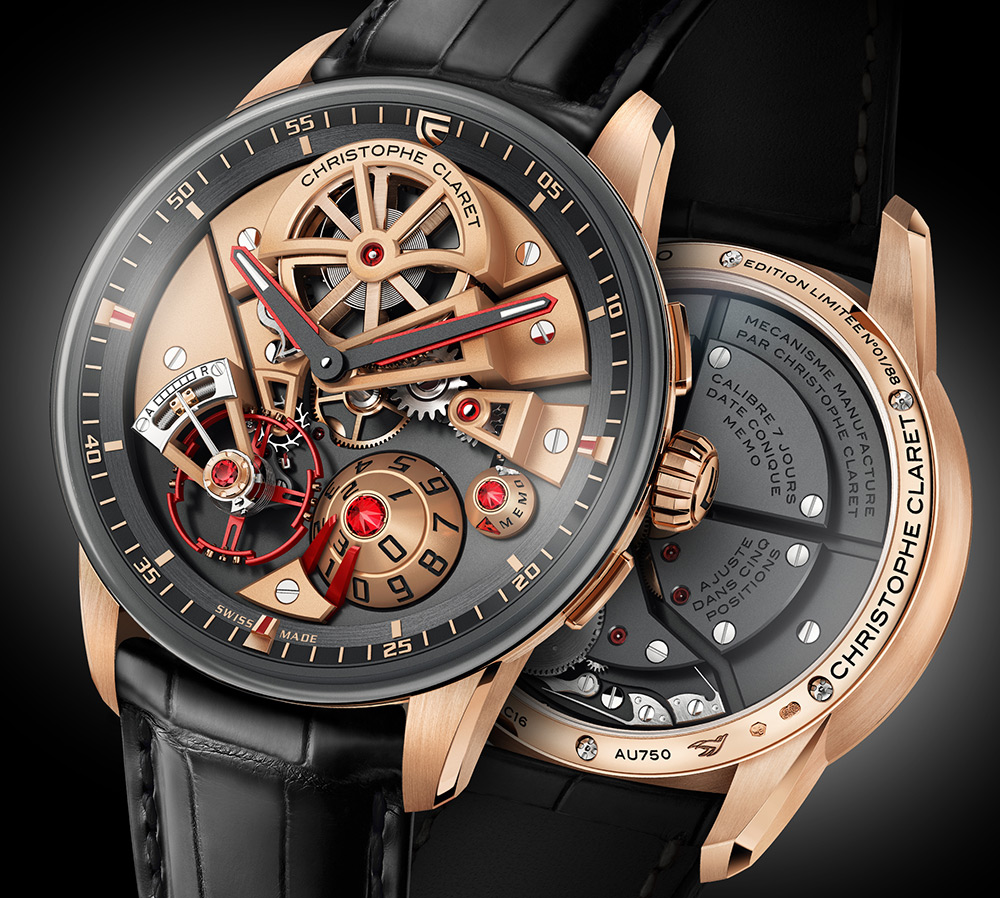 Christophe Claret watches 2018 models