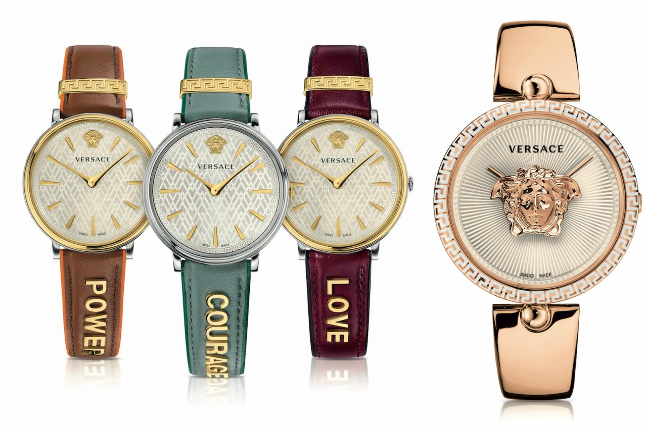 2018 versace watches for womens