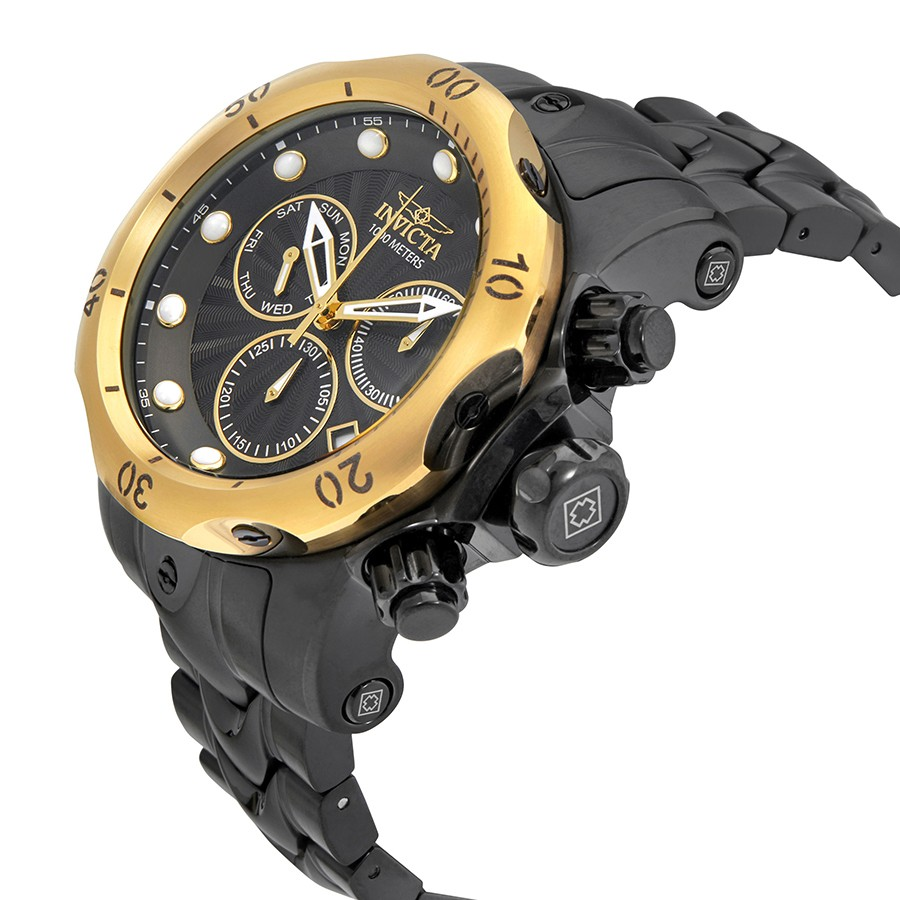 gold Invicta venom Watch