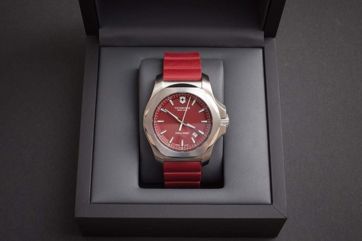 Victorinox watch red color